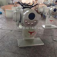 DZW 带涡轮电动头电动执行器生产厂家