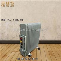 防爆电加热暖气油汀BD工业防爆取暖设备