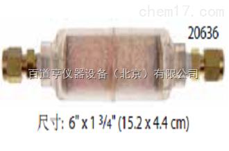 适用于压缩空气的指示型烃类捕集器