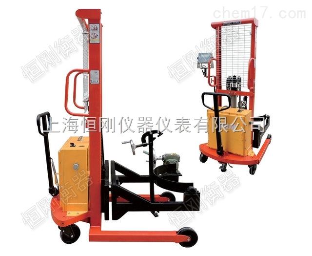 上海半自動液壓倒桶秤,工礦高強度倒桶稱