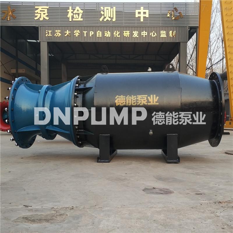 斜拉式潜水轴流泵型号