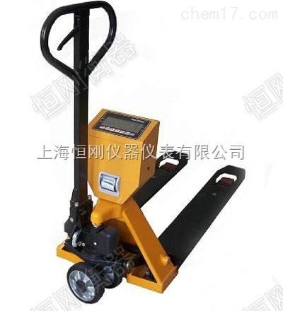 打印稱重單上海叉車秤,上海打印叉車電子秤
