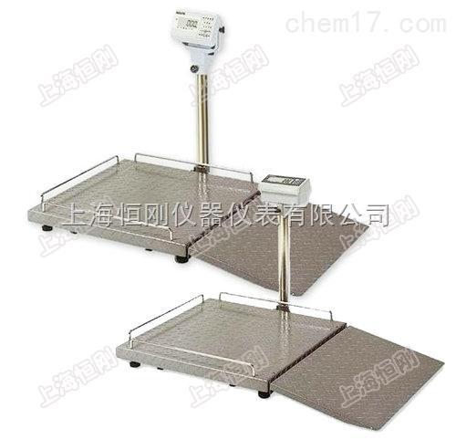 定制大屏幕医院轮椅秤,电子病床体重轮椅称
