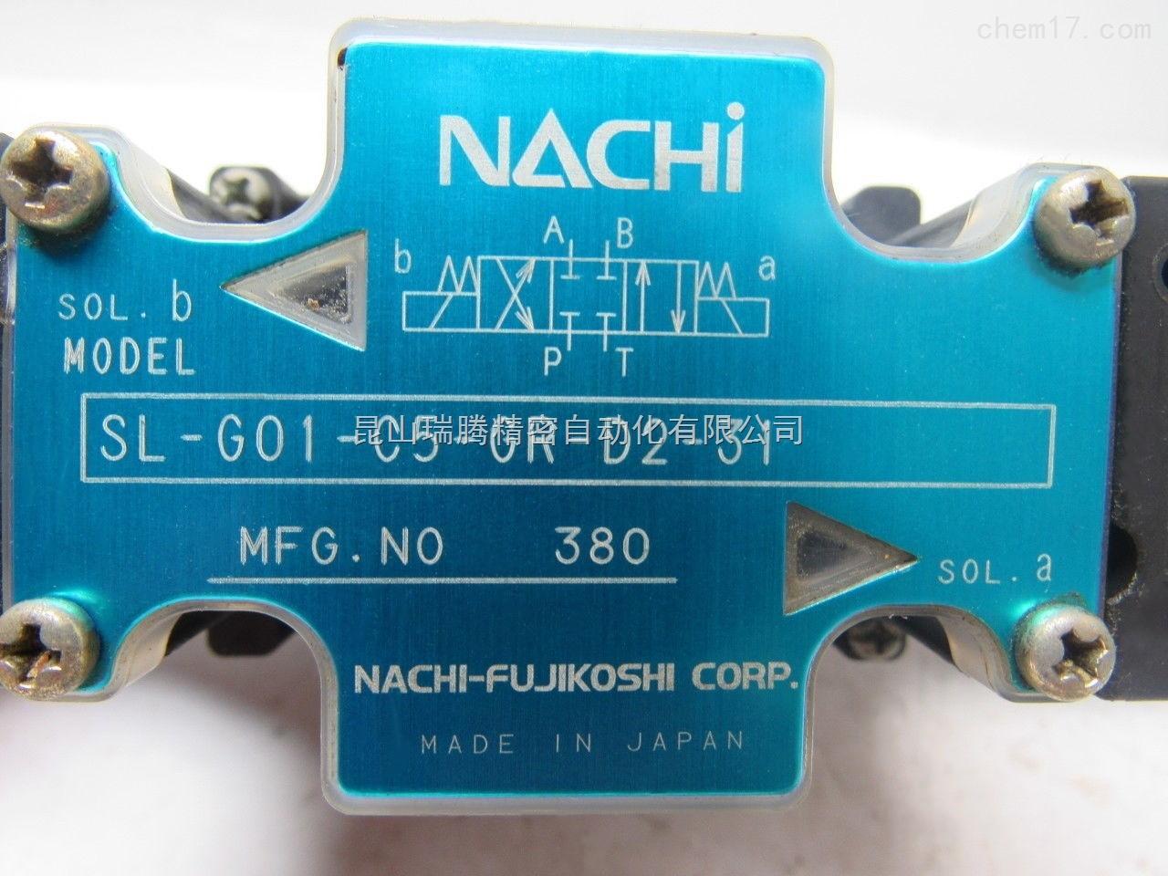 日本NACHI不二越电磁阀SL-G01-C5-R-D2-31