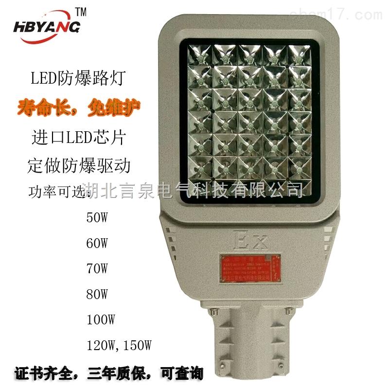 BZD188-60W路灯式防爆免维护LED泛光灯EX