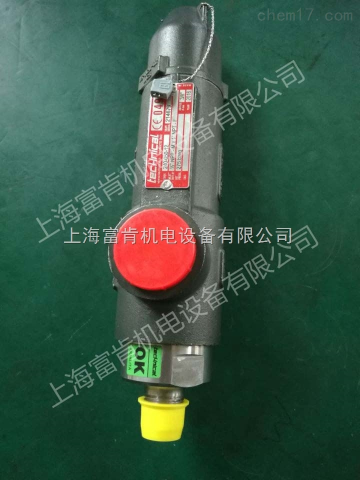 technical 安全阀 240-0C0-12 大量现货清仓