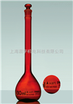 IWAKI 棕色 茶色 容量瓶 A级