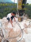四川达州花岗岩开采5000吨分裂机