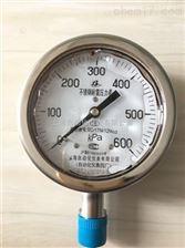 Y-60B不锈钢压力表上仪四厂
