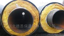 型号齐全蒸汽钢套钢保温管铺设管件采购