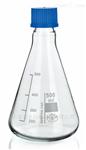 SIMAX螺口三角烧瓶 锥形瓶(带盖子)