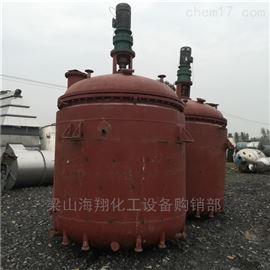 旧货评估回收二手7吨搪瓷反应釜