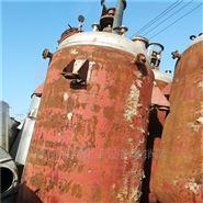 環保設備二手不銹鋼反應釜低價轉讓