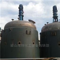 旧货评估回收二手2吨不锈钢反应釜
