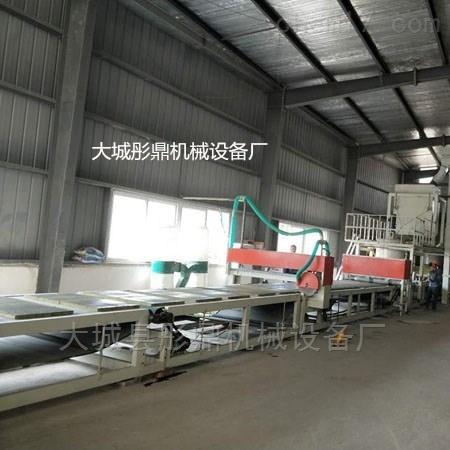 新型水泥岩棉砂浆复合板设备生产线