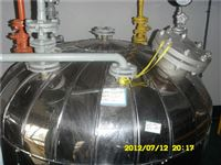 5升5升不锈钢电加热反应釜做保温