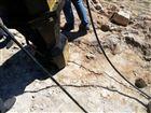 新疆和田挖山体液压岩石劈裂机
