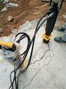 云南红河岩石石块开采分裂机