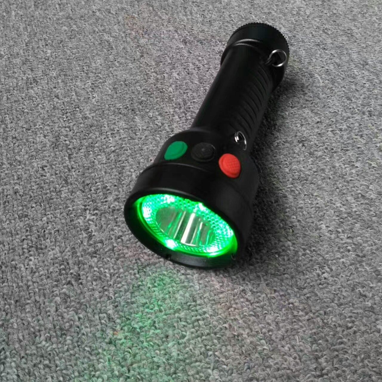 红黄白三色铁路led手持调车警示电筒IP65