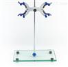 钢化玻璃面铁架滴定台  实验滴定用