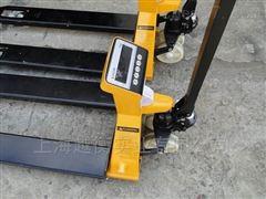 带打印液压叉车秤直销、1.5T计重叉车电子秤