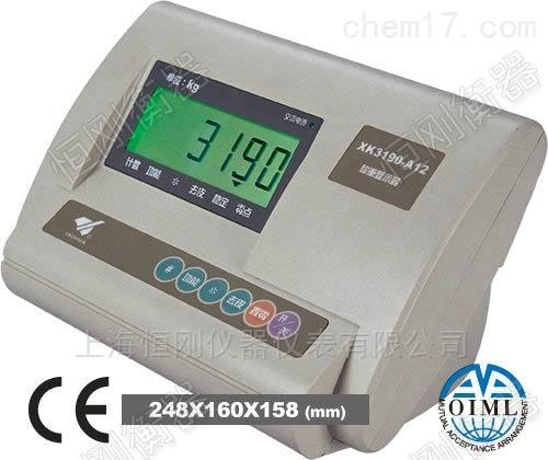 地磅称重器仪表 XK3190控制显示器