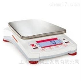 奥豪斯NVL10000B电子天平1g  大尺寸秤盘