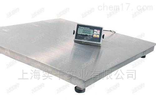 1m×1m电子平面秤可接PLC控制器