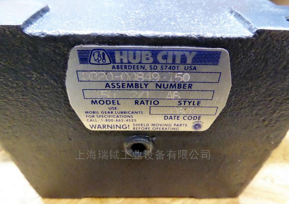 美国 Hub City 电机