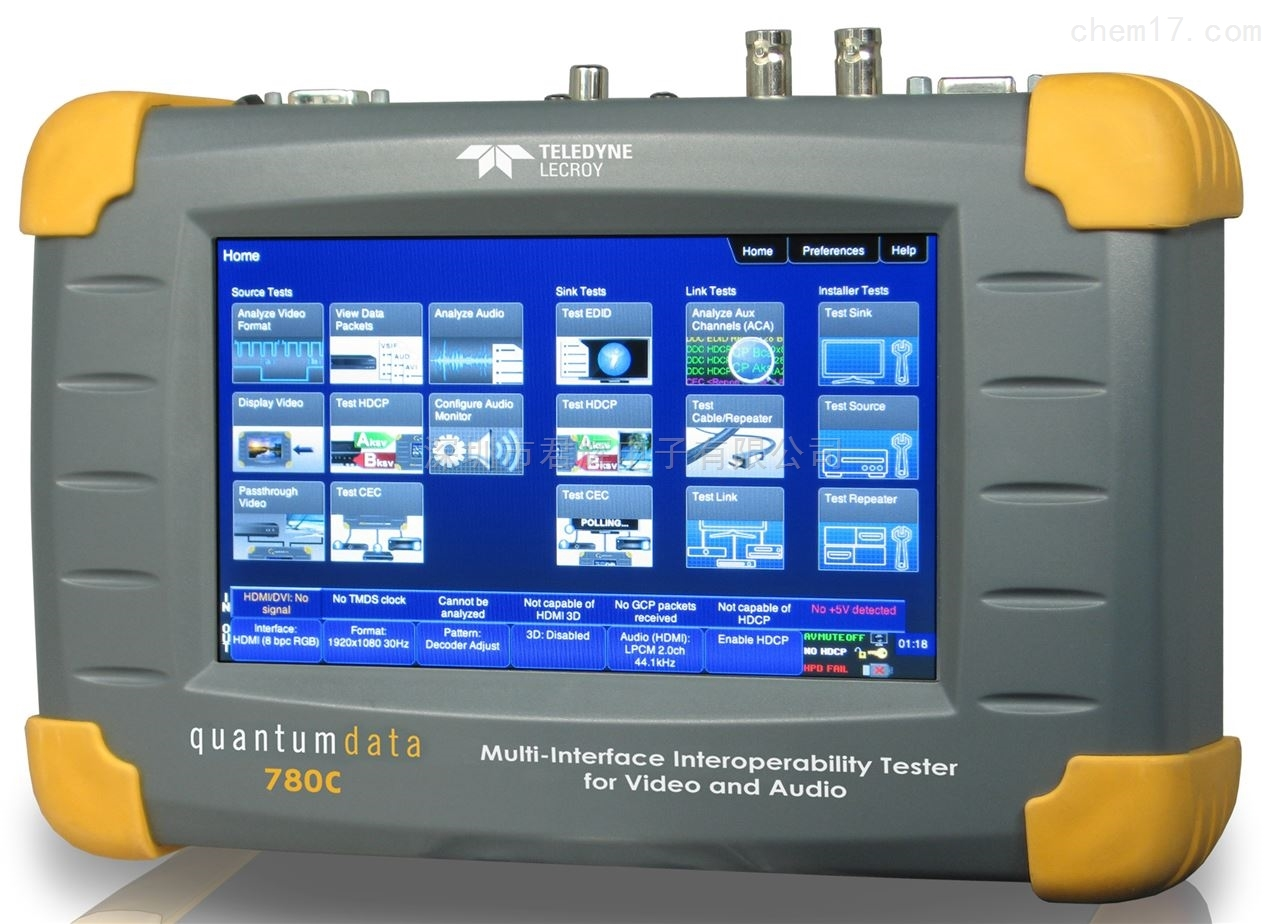 780C,高清信号发生器