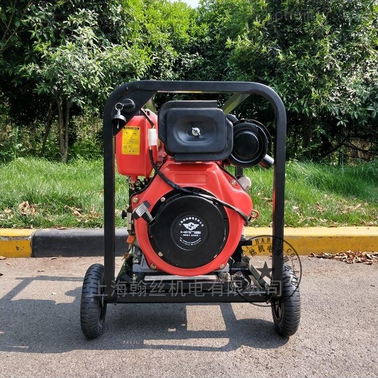 柴油动力4寸高压污水泵