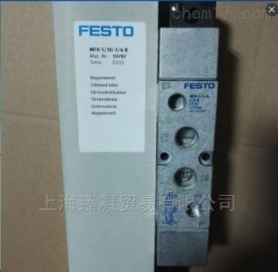 费斯托FESTO电磁阀MFH-3-1/4现货