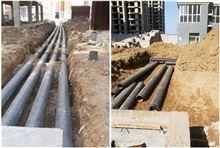 型號齊全焊接式預製直埋熱力保溫管管道安裝密封連接