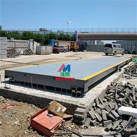 北京二手地磅回收,100吨工地电子地磅