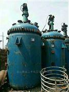 各种型号供应九成新二手5000L搪瓷反应釜