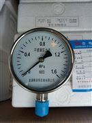Y-100B不锈钢压力表-0.1-2.5MPA 耐震