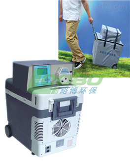 LB-8000D高可靠蠕动泵混合式步进电机水质自动采样器