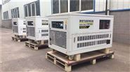 25千瓦汽發電機自帶拖車