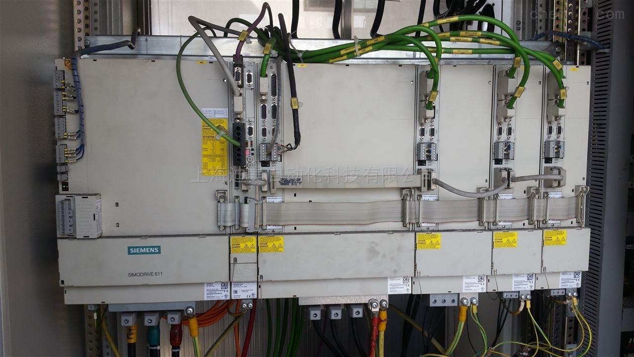 西门子840d数控系统y轴伺服故障报警维修