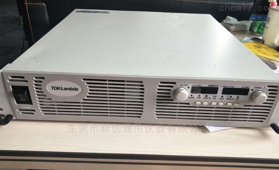 日本GEN600-5.5编程电源