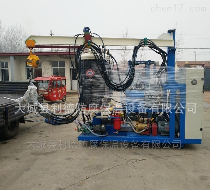 主营热力管道保温发泡机设备