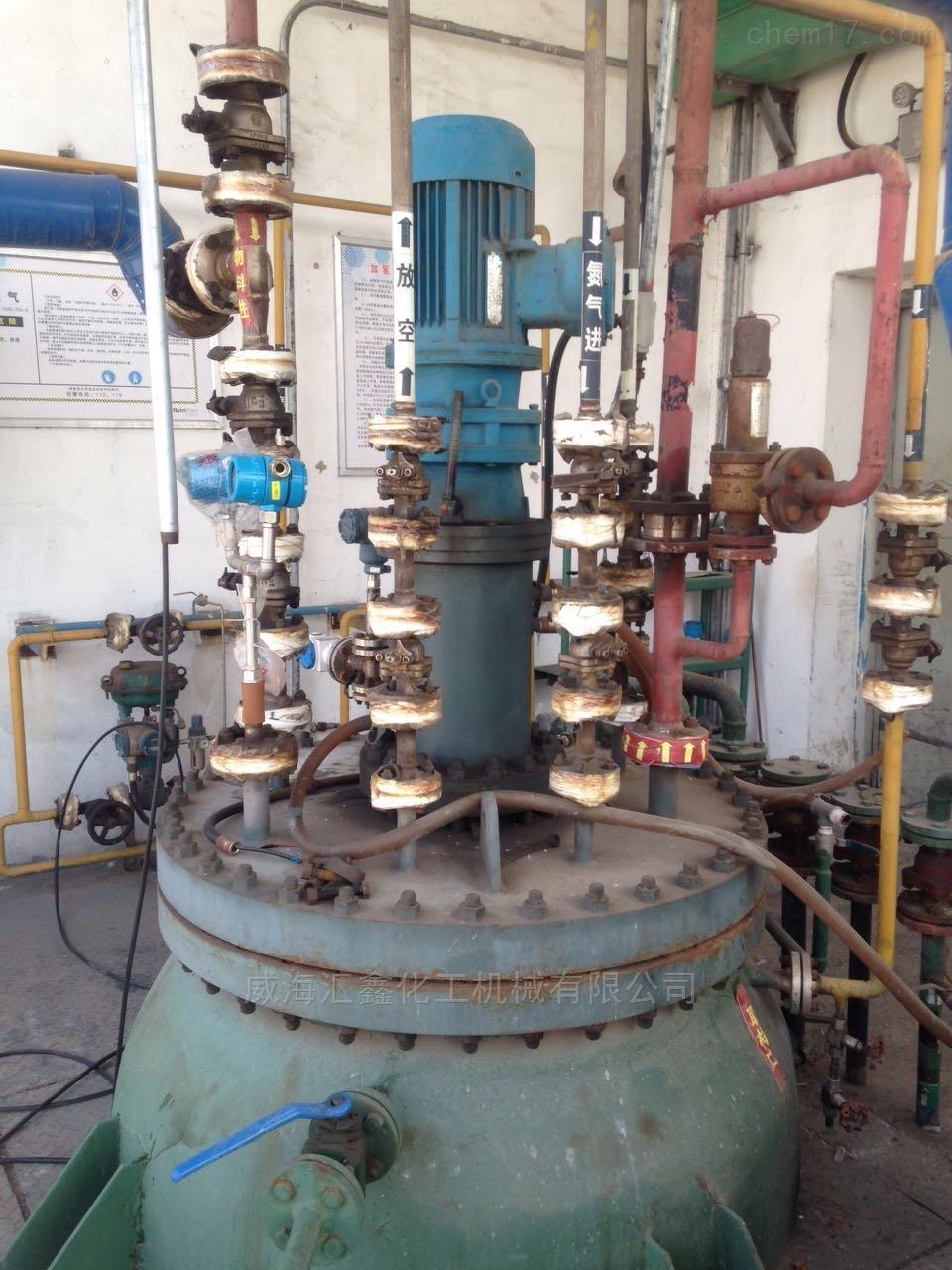 染料化工用机械密封反应釜设计