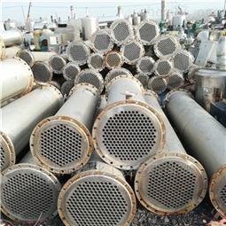 厂家出售二手100平方不锈钢列管冷凝器