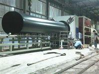 DN150广东预制钢套钢耐热聚氨酯保温管