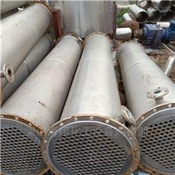 海翔诚信回收二手25平方不锈钢列管冷凝器