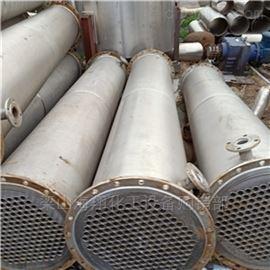 现货回收二手10平方不锈钢列管冷凝器