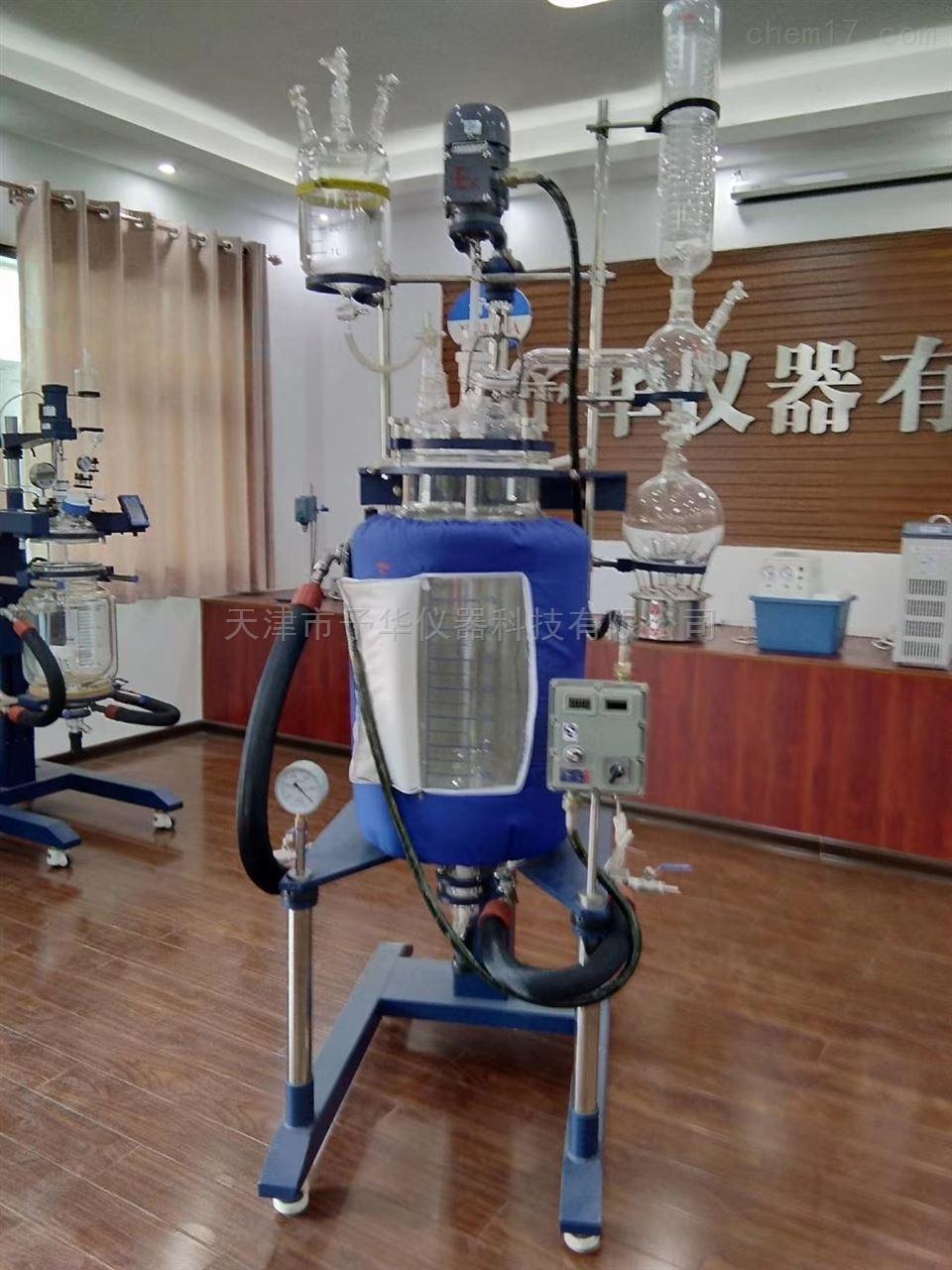 防爆双层玻璃反应釜予华仪器专业生产厂家