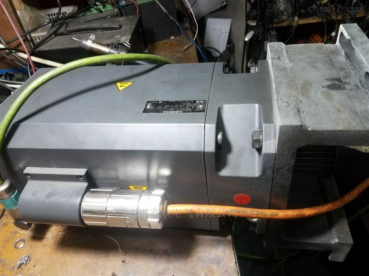 西门子840D机床Z/X/Y轴伺服电机坏修理