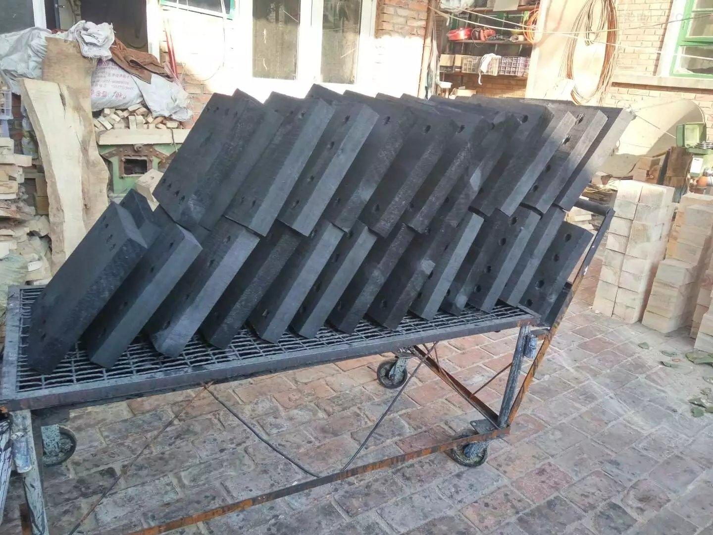 济南中央空调支撑块 冷冻水木托支座