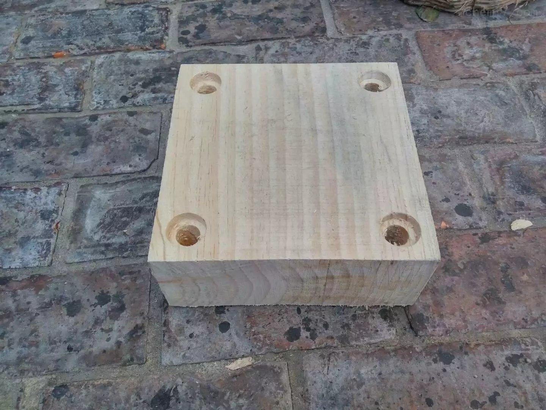 空调回水管道木垫块 生产厂家 玉航